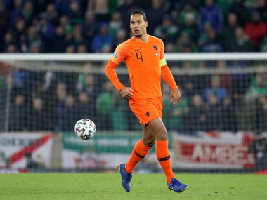 Euro 2020 Qualifiers Netherlands are back where they belong says Virgil van Dijk after sealing automatic qualification