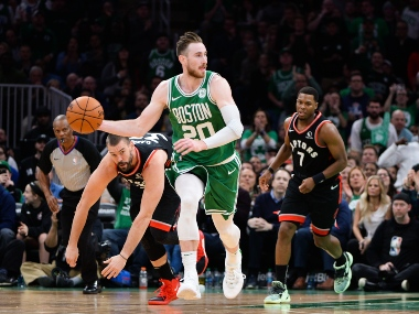 NBA Boston Celtics Gordon Hayward to miss six weeks of season with broken left hand likely to return for Toronto Raptors clash