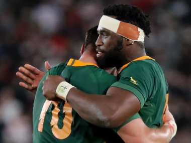 Rugby World Cup 2019 We come from different backgrounds races but came together with one goal says South Africas triumphant captain Siya Kolisi