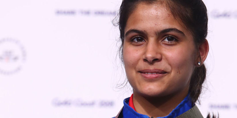 Asian Shooting Championships Deepak Kumar bags Olympic quota Manu Bhaker clinches gold in 10m air pistol