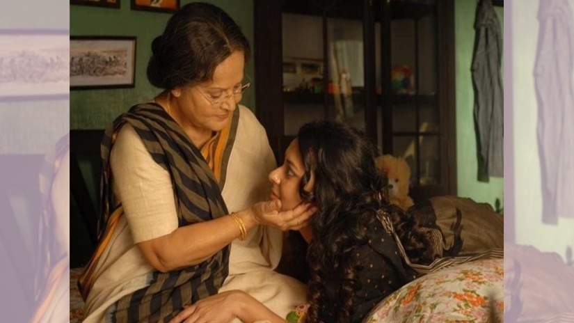 Nirban movie review Despite a powerhouse act by Rakhee Gautam Halders promising film comes up short