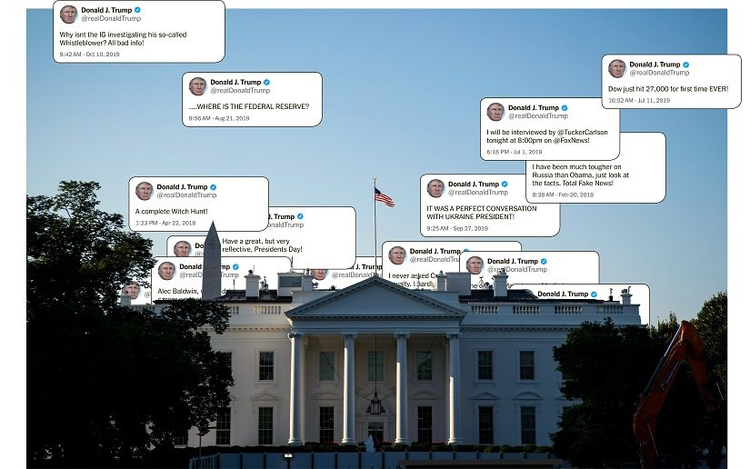 Donald Trump reshaped the face of the US presidency in over 11000 tweets Heres a closer look at how