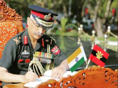 Lieutenant General Manoj Mukund Naravane to be next Indian Army chief decorated veteran has led counterinsurgency ops in JK North East