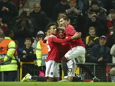 Europa League Manchester United Wolves secure big victories Borussia Monchengladbach out after loss to Basaksehir