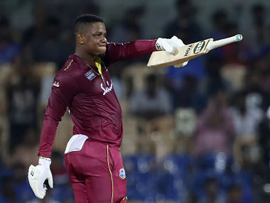 West Indies' Shimron Hetmyer was bought for Rs 7.75 crore by DC. AP