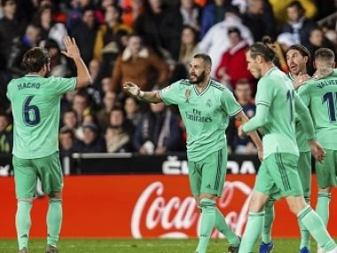 LaLiga Real Madrids Karim Benzema scores late goal to salvage point against Valencia Villarreal beat Sevilla