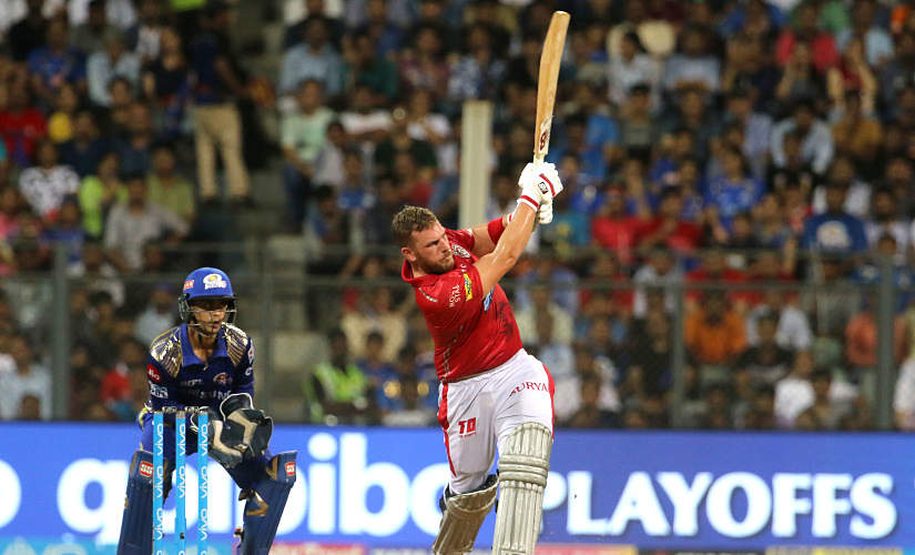Aaron Finch last played in the IPL for Kings XI Punjab in 2018. Sportzpics