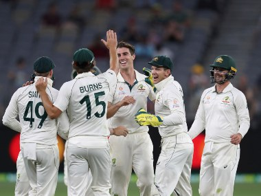 Australia took a 1-0 lead in the series after 296-run win in 1st Test. AP