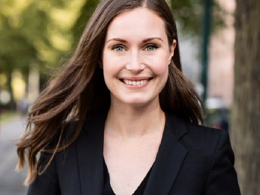 Finlands Social Democratic Party names Sanna Marin for PMs post 34yearold set to be countrys youngest prime minister