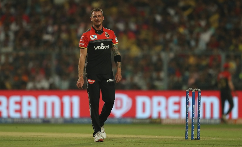 Dale Steyn of Royal Challengers Bangalore pictured in a previous edition of the IPL. SportzPics