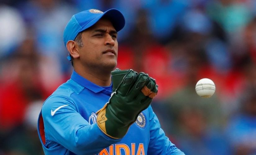 MS Dhoni's thick palms, soft hands and sharp reflexes help him effect unbelievable stumpings. Reuters/File