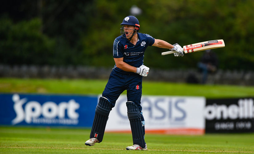 In eight matches at the T20 World Cup qualifiers, George Munsey made 234 runs at an average a shade below 30 while striking at 140-plus. Getty images