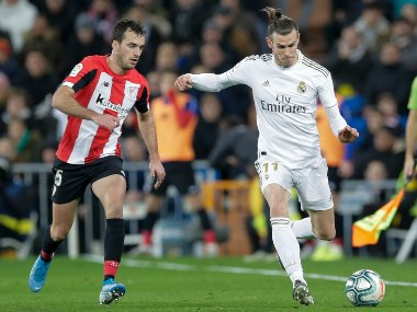 LaLiga Real Madrid enter winter break behind leaders Barcelona after draw against Athletic Bilbao Atletico Madrid beat Real Betis