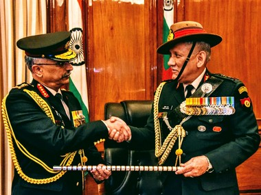 Manoj Naravane takes over as new Chief of Army Staff Hope institution rises to greater heights says predecessor Bipin Rawat