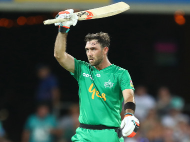 Glenn Maxwell smashed five fours and seven sixes during his innings. Image credit: Twitter/@StarsBBL