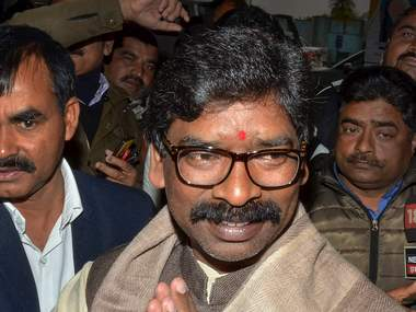 Hemant Soren to expand fourmember Jharkhand cabinet today govt can add another eight ministers as per rules