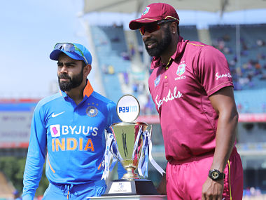 File image of India captain Virat Kohli and West Indies skipper Kieron Pollard. Sportzpics