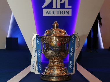 The IPL trophy. Sportzpics