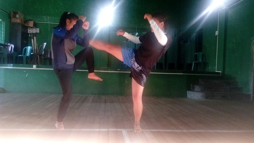 In Meghalayas Smit village community kickboxing classes offer a chance to beat gender stereotypes