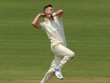 File image of England pacer James Anderson. Image credit: Twitter/@jimmy9