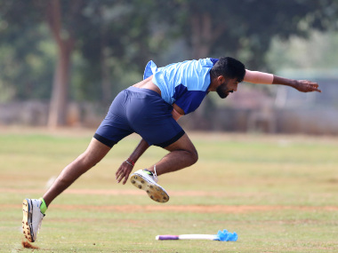 Jasprit Bumrah is expected to make comeback to India team against Sri Lanka. Image credit: Twitter/@BCCI