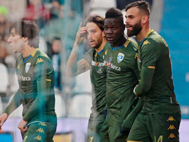 Serie A Mario Balotelli scores in Brescia win on Eugenio Corinis return as coach