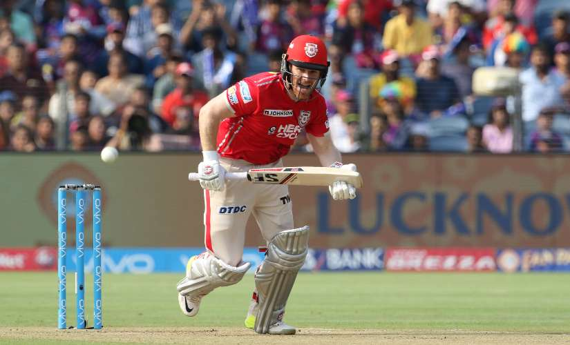 Eoin Morgan's four IPL games for Kings XI had nothing in it to recall fondly – four games brought with them a top score of 26, while the strike rate was a quite ordinary 104.83. Sportzpics