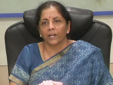 Nirmala Sitharaman announces Rs 105 lakh cr infrastructure projects to reach 5 tn target in next 5 years