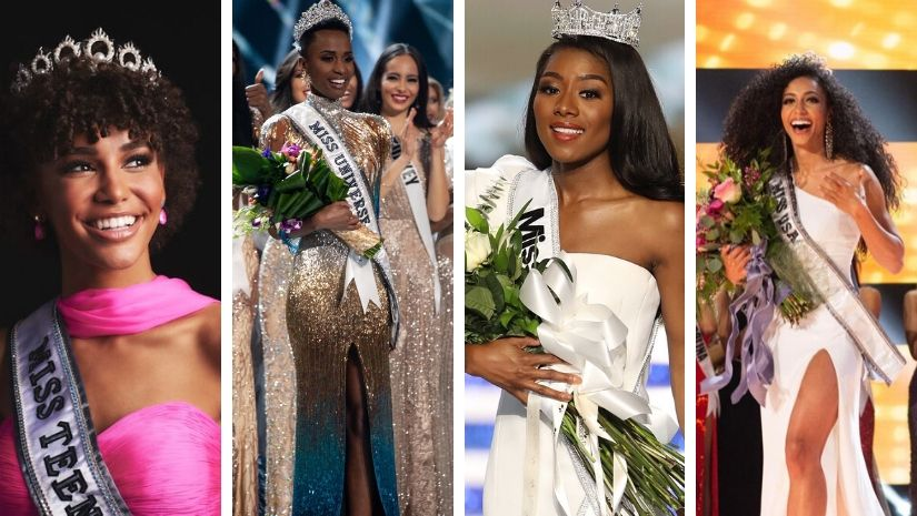 As Zozibini Tunzi wins Miss Universe 2019 marks the first time black women have reigned over four major beauty pageants