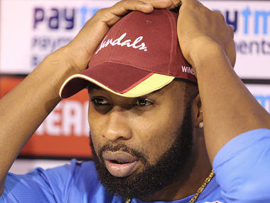 Kieron Pollard said the inclusion of Roston Chase in the ODI side brought a good balance to the team. AP