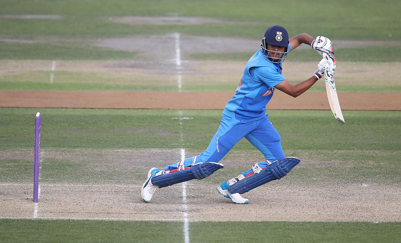 Priyam Garg has been named as India skipper for the ICC U-19 World Cup next year. Getty images