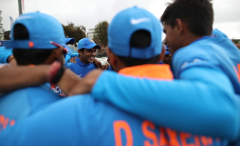 Priyam Garg will lead the India U-19 side in South Africa. Getty images