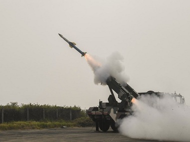 India successfully testfires Quick Reaction Surface to Air Missile system from Chandipur in Odisha