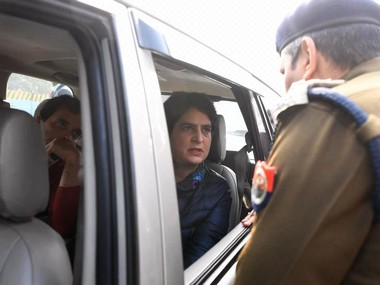 CAA protests UP Police stops Rahul and Priyanka Gandhi from entering Meerut to meet kin of deceased agitators