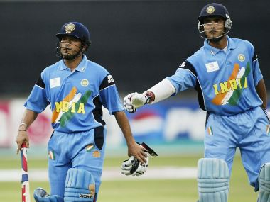 Sachin Tendulkar and Sourav Ganguly formed an immensely successfuly opening pair for India in one-dayers. Getty Images