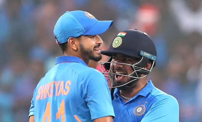 Useful contribution from Shreyas Iyer and Rishabh Pant's bat in two out of three matches of the series indicated towards solution to India's middle-order muddle. AP