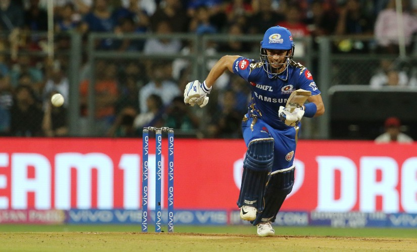 Siddhesh Lad of Mumbai Indians was the sole player traded in by the Kolkata Knight Riders ahead of the auction. SportzPics