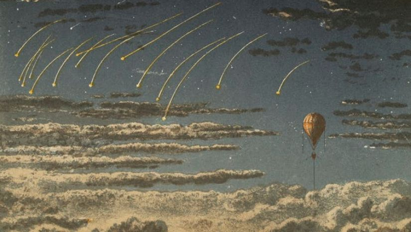 With the introduction of balloon trips the first aeronauts transformed our view of the world