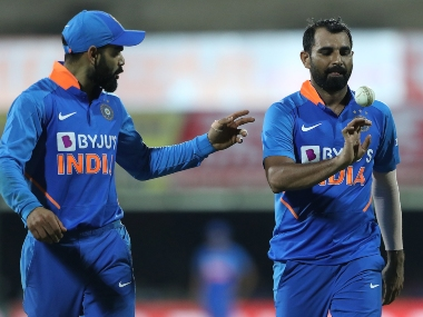 India's bowlers failed to defend a target of 288 in Chennai. Sportzpics