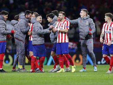 Champions League Atletico Madrid exorcise selfdoubt with win over Lokomotiv Moscow Mo Salah magic inspires Liverpool