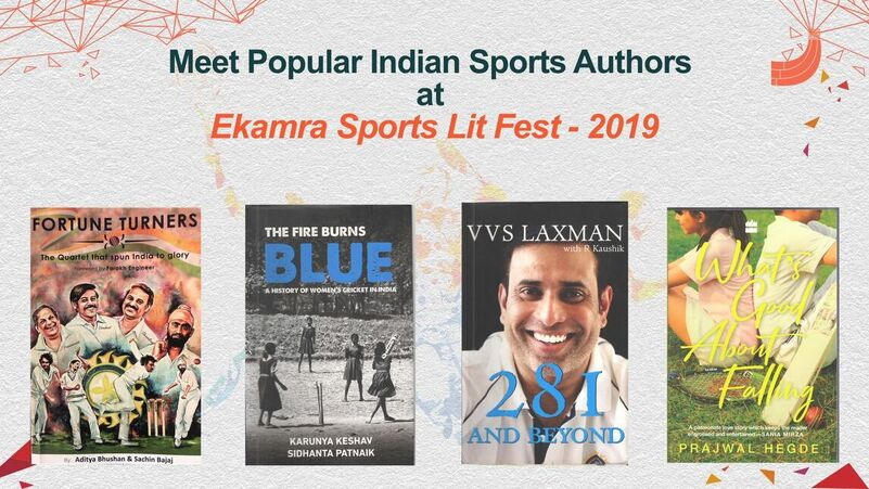 Ekamra Sports Lit Fest ESLF moves second season to the capital announces first ever sports book awards