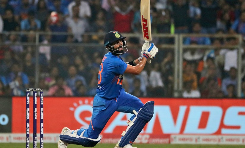 Indian captain Virat Kohli scored 70 not out off just 29 deliveries, notching up his 24th fifty in T20Is. AP