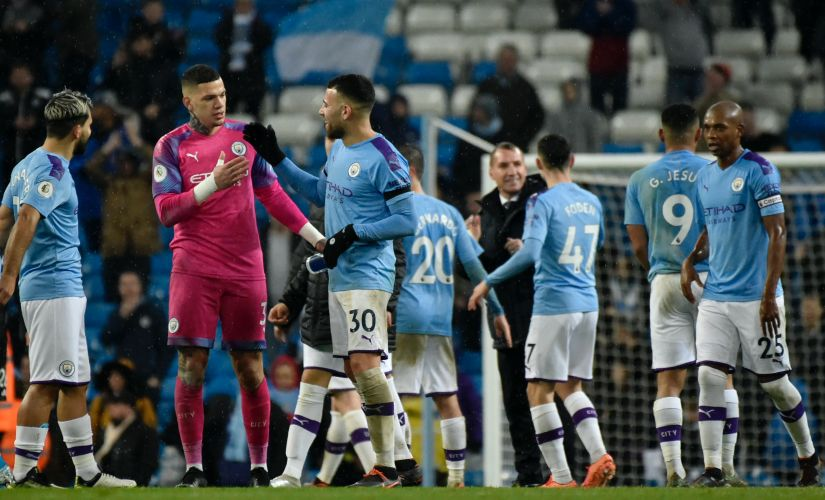 Premier League Leicester win could be the perfect trampoline for Manchester City to string together a sequence of results to close gap on Liverpool