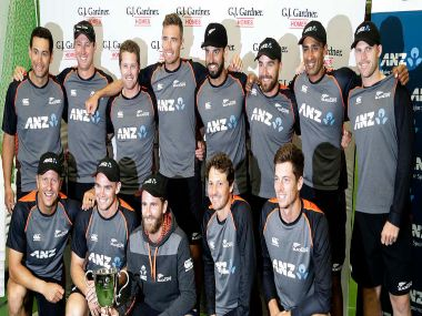 New Zealand won the two-match Test series against England 1-0. AP