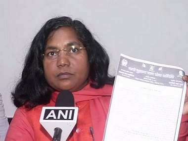 Savitri Bai Phule resigns from Congress will float her own outfit exBJP lawmaker says no difference between parties