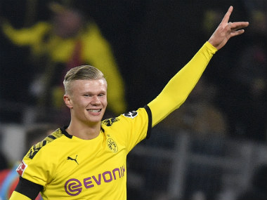 Bundesliga Erling Haaland brace takes his tally to five goals in first two games as Borussia Dortmund demolish Cologne 51