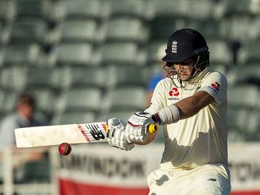 England captain Joe Root plays a shot on day Three of the fourth Test. AP