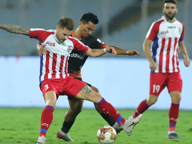 ISL 201920 ATK return to winning ways displace FC Goa from top of table with 20 victory at home