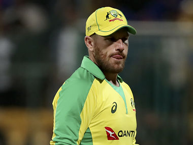Aaron Finch said that Australia have to peak at the right time. AP