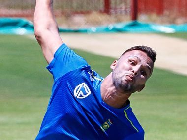 South Africa could hand a debut to seamer Dane Paterson in the third Test against England. Getty
